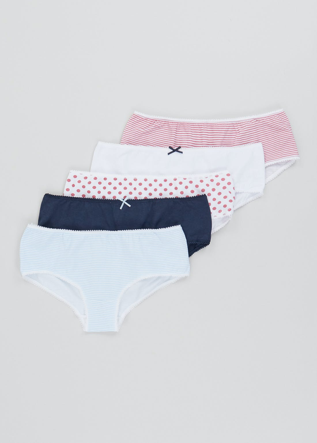 5 Pack Printed Short Knickers