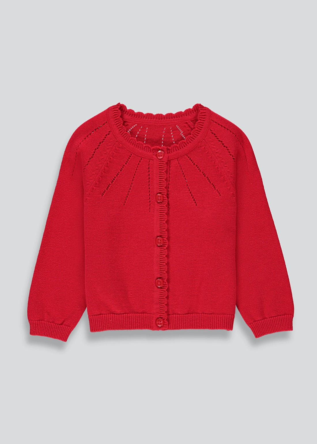 Girls Pointelle Cardigan (9mths-6yrs)