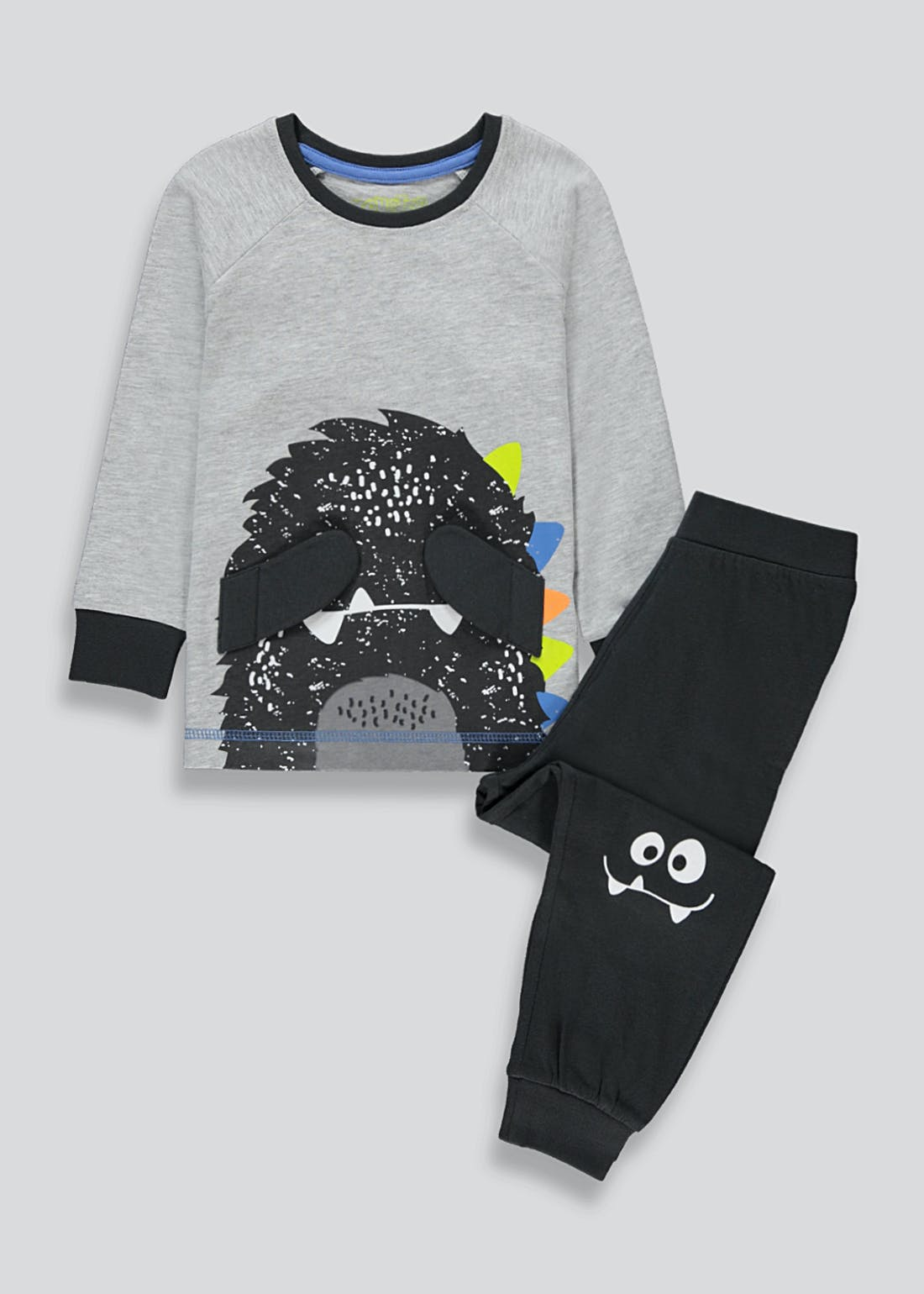 Boys 3D Monster Pyjama Set (9mths-5yrs)