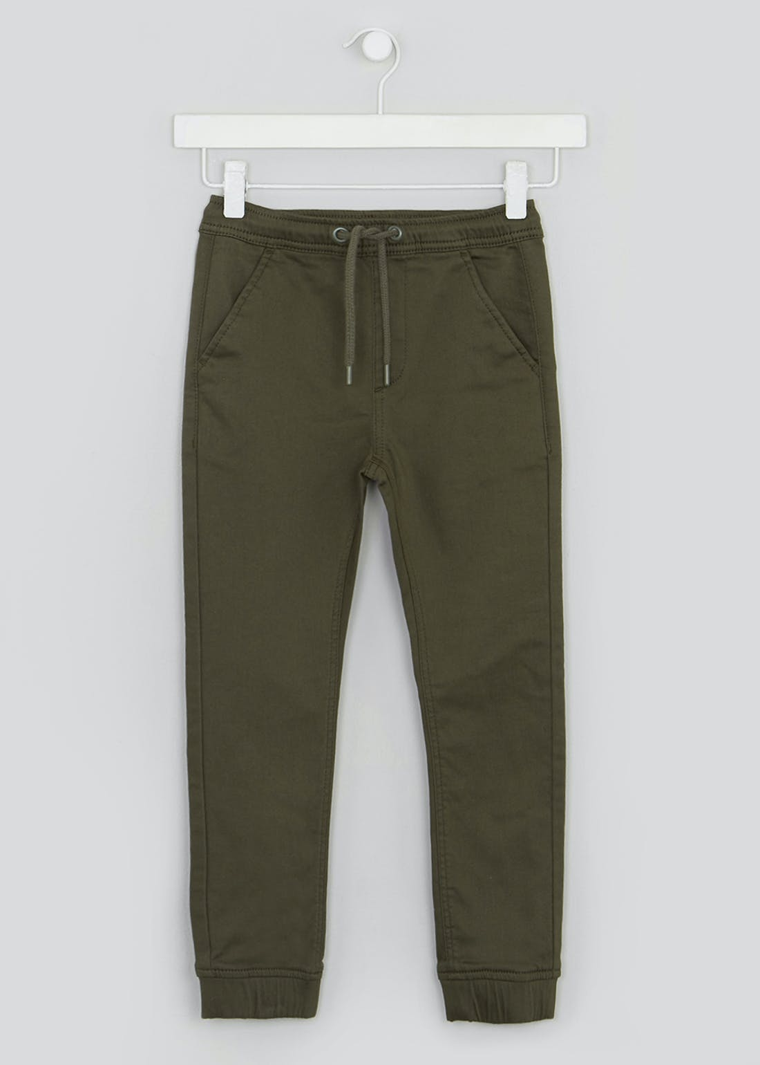 Boys Pull On Cuffed Trousers (4-13yrs)