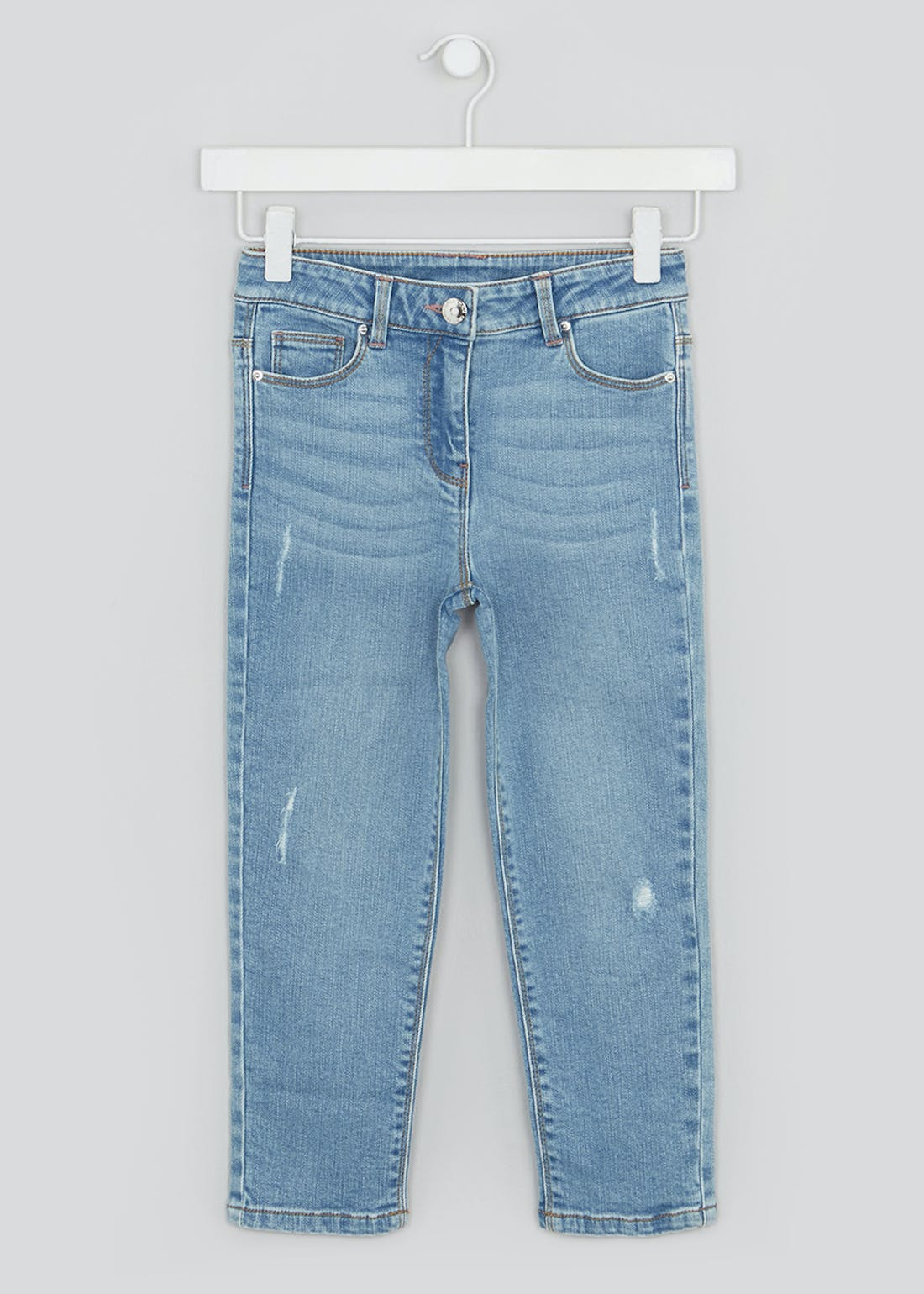 Girls Straight Fit Jeans (4-13yrs)