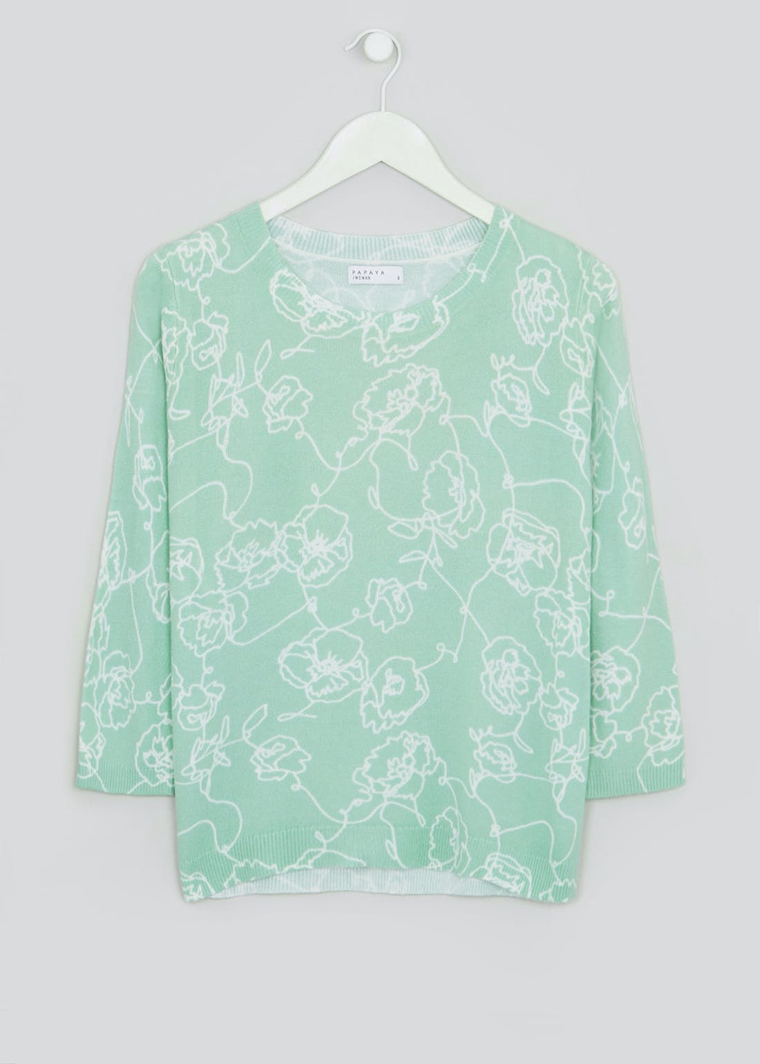 Papaya Classic Sketch Floral Jumper