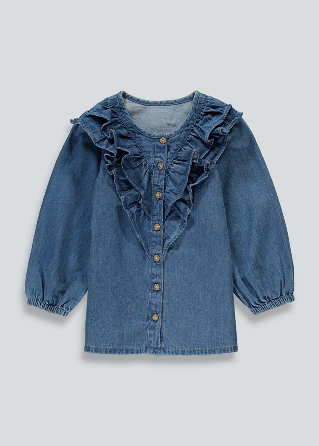 Girls Denim Blouse (9mths-6yrs)