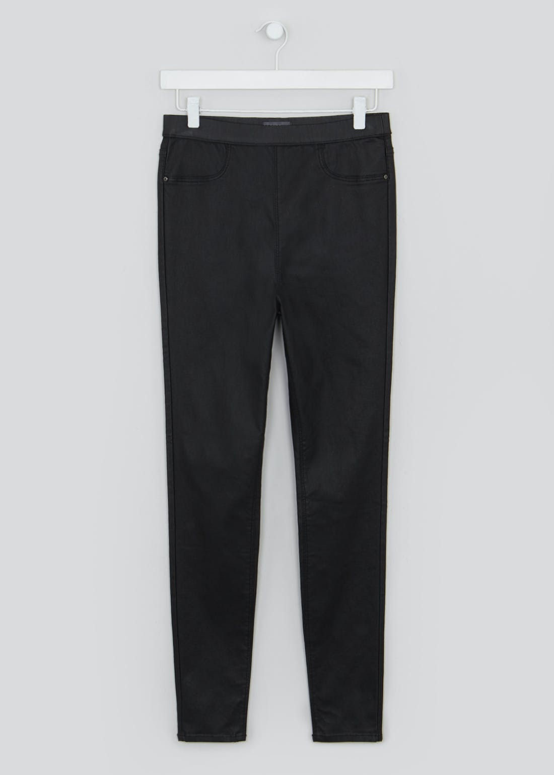 Rosie Pull On Coated Jeggings