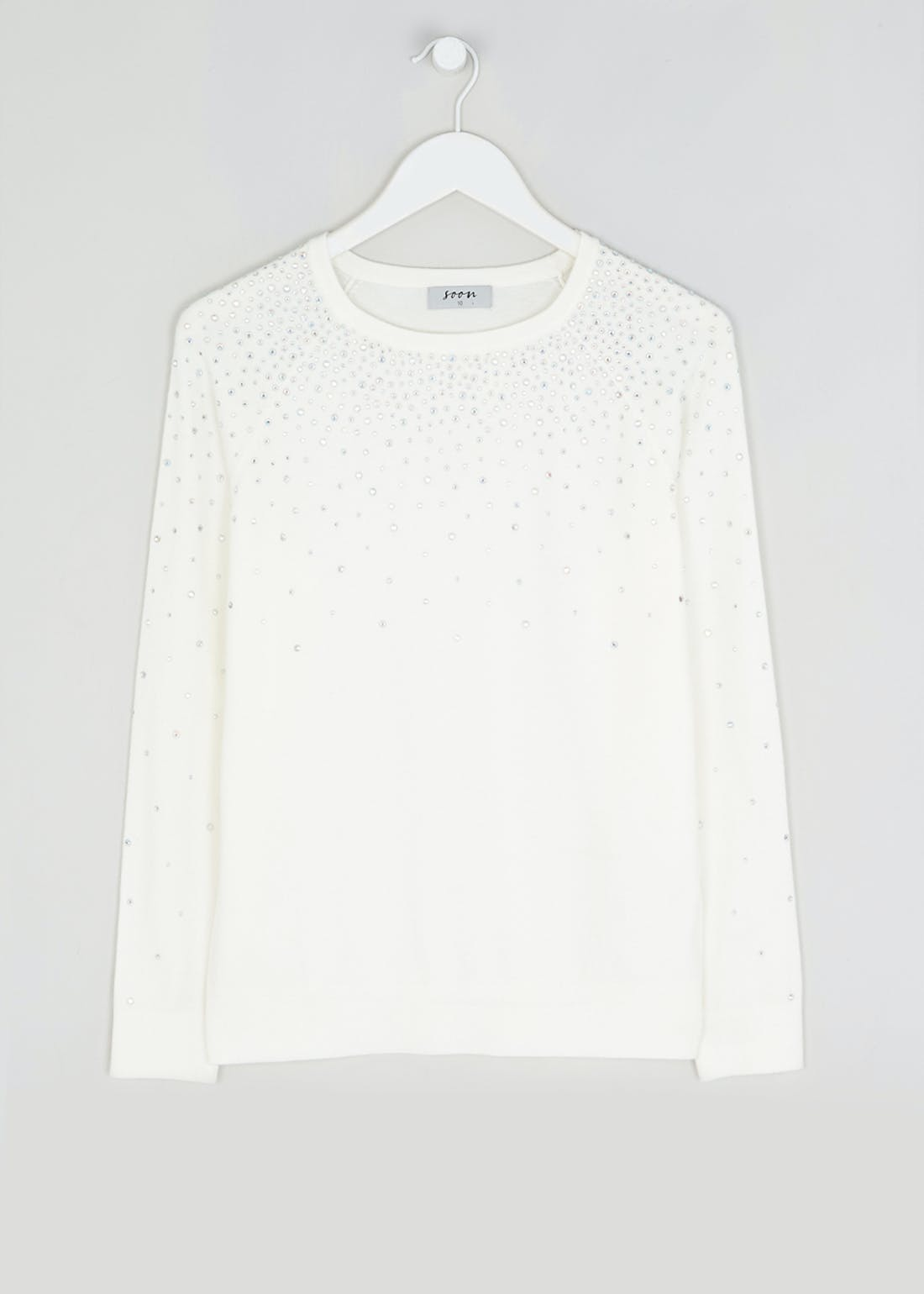 Soon Iridescent Studded Jumper