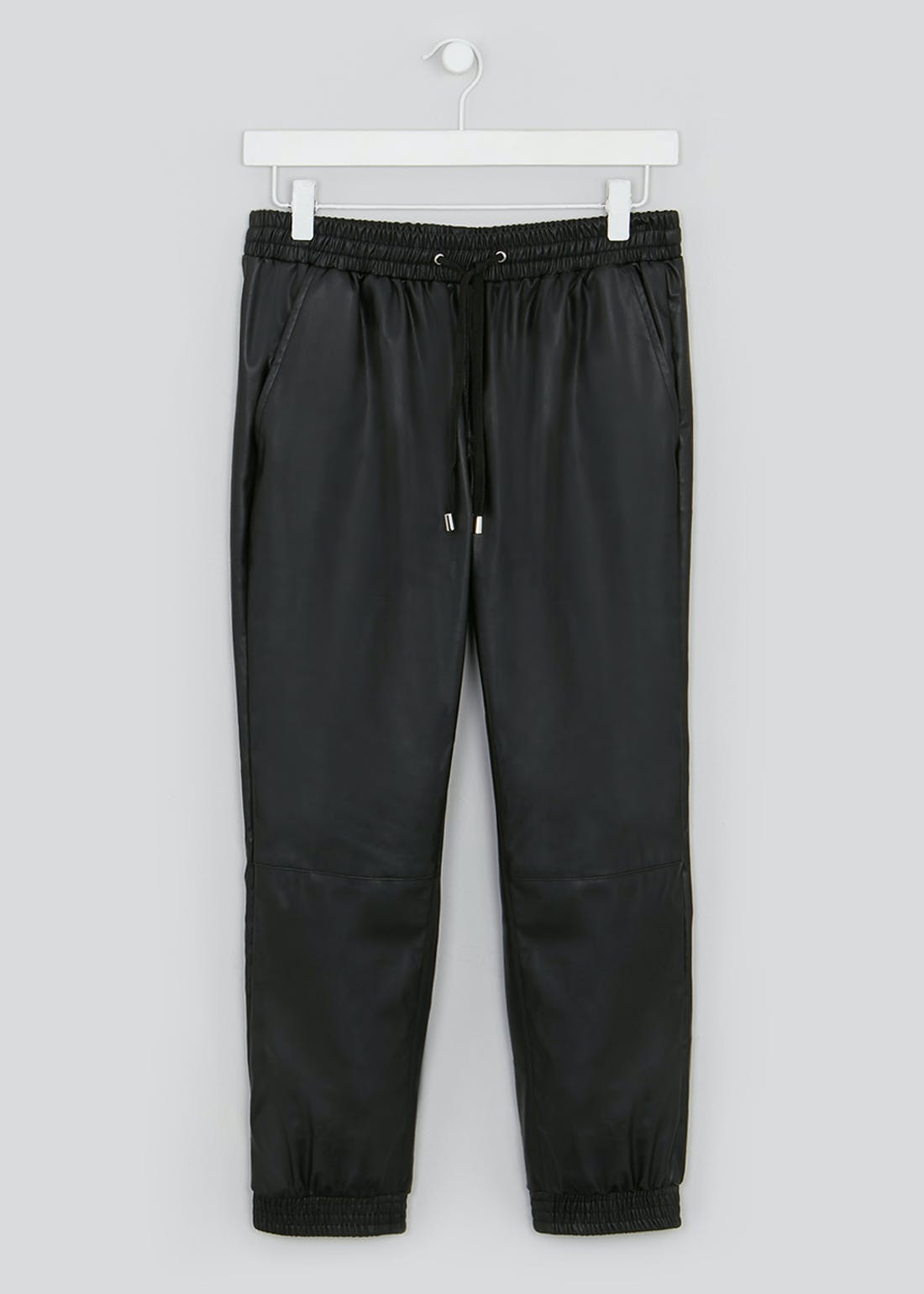 Papaya Petite Leather Look Joggers