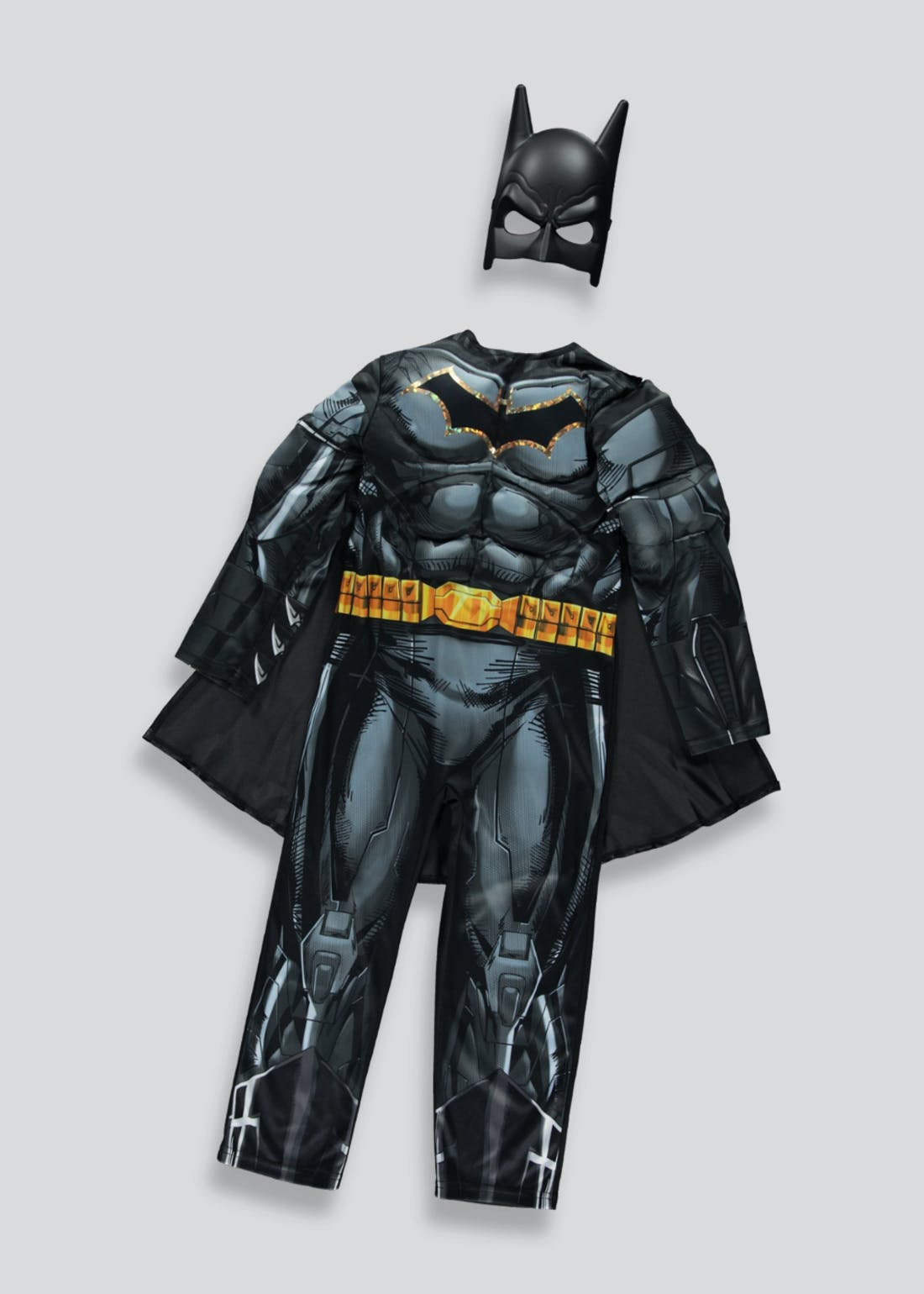 Kids Batman Fancy Dress Costume (3-9yrs)
