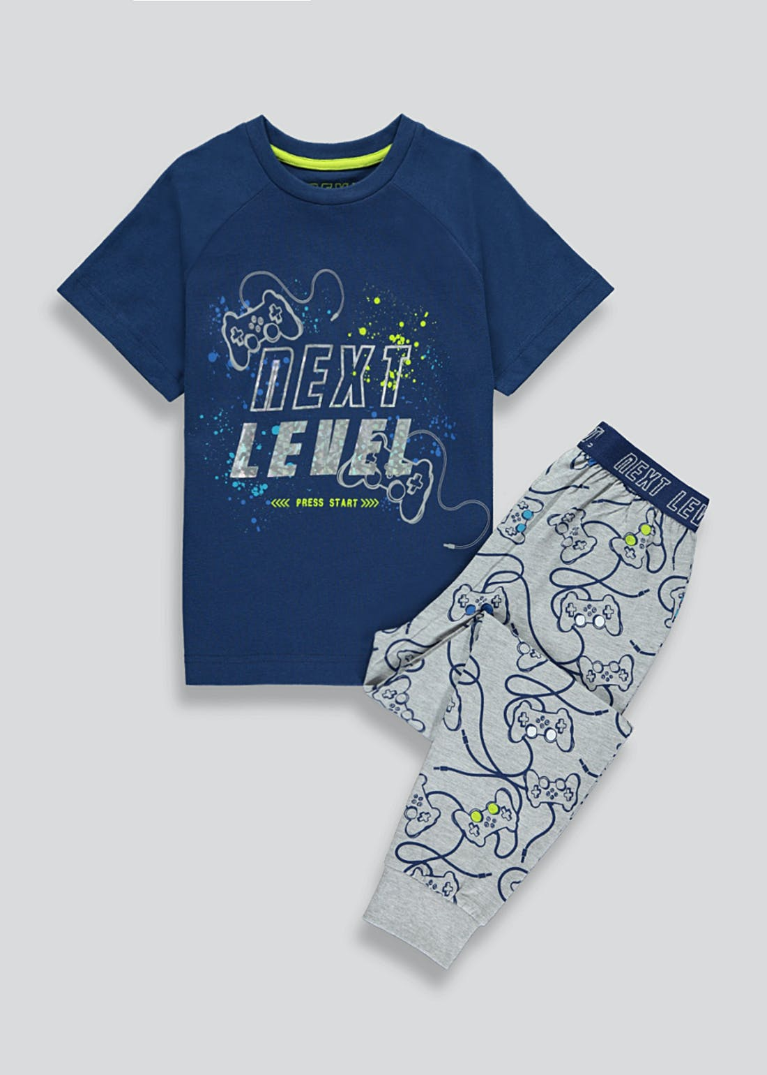 Boys Gamer Pyjama Set (4-13yrs)