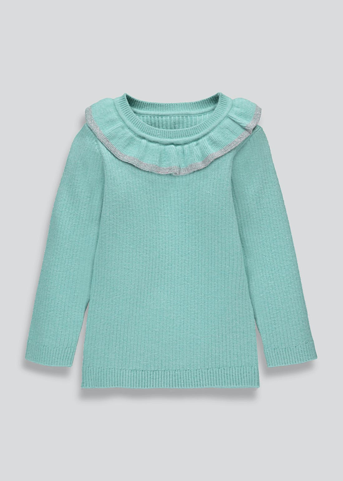 Girls Frill Neck Jumper (9mths-6yrs)