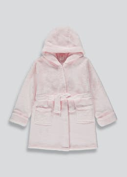 Girls Hooded Dressing Gown (6-13yrs)