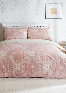Cotton Rich Mandala Print Duvet Cover