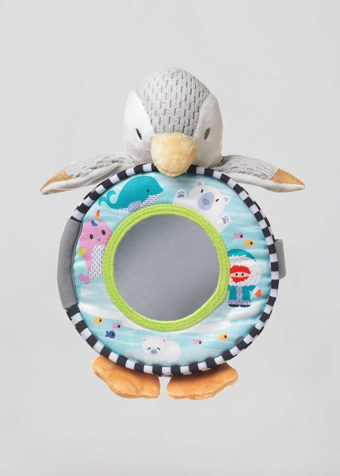 Nuby Penguin My First Baby Book Soft Toy