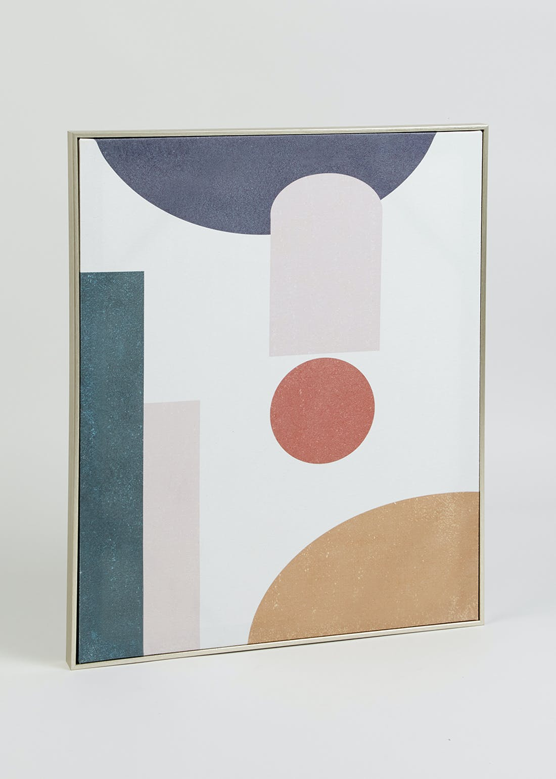Abstract Colour Block Framed Wall Art (60cm x 50cm)