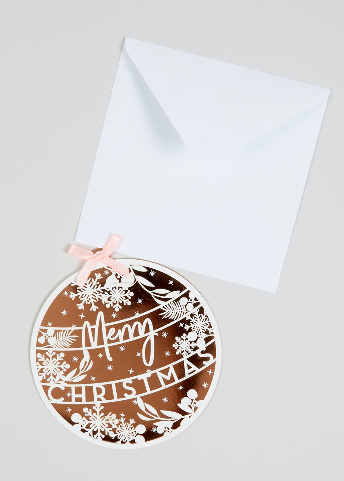 6 Pack Bauble Christmas Cards (15cm)