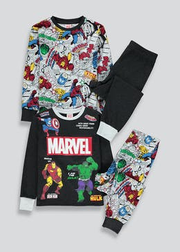 Kids 2 Pack Marvel Pyjamas (2-9yrs)