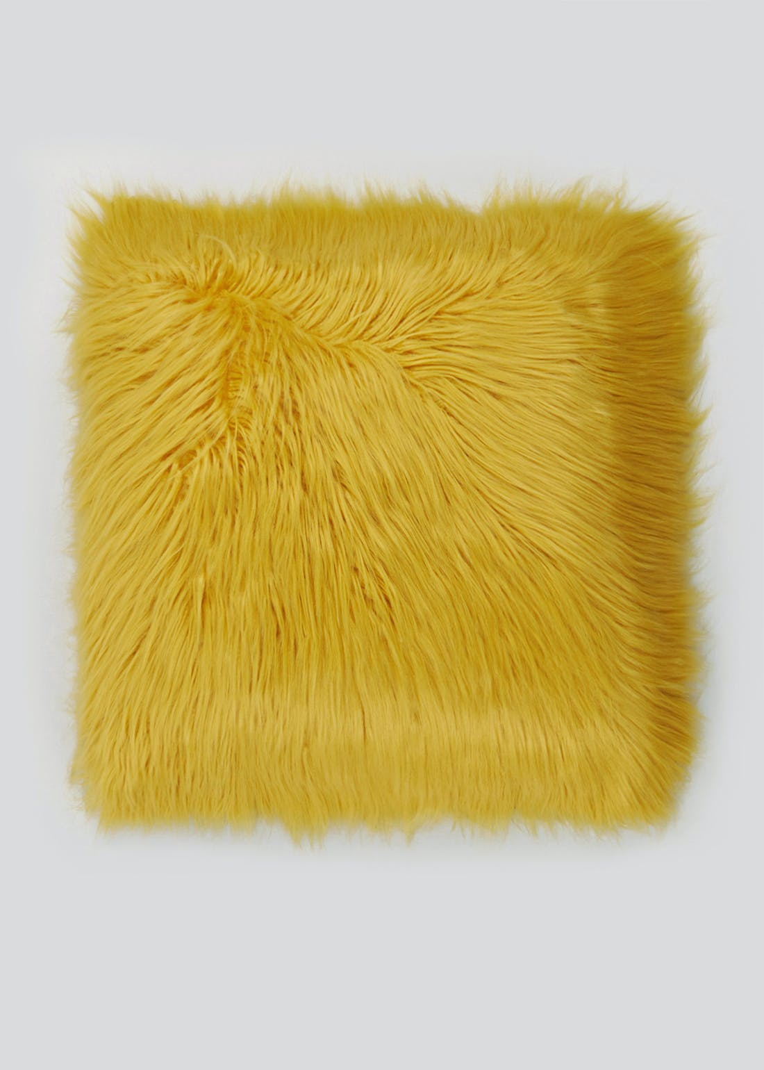 Large Mongolian Faux Fur Cushion (59cm x 59cm)