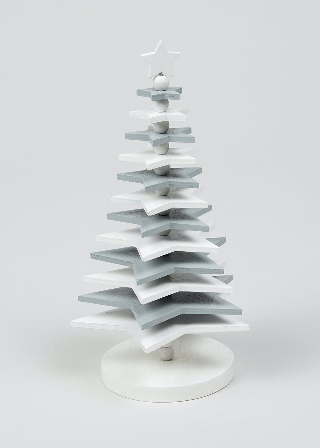 Stacked Star Christmas Tree (26cm x 15cm)