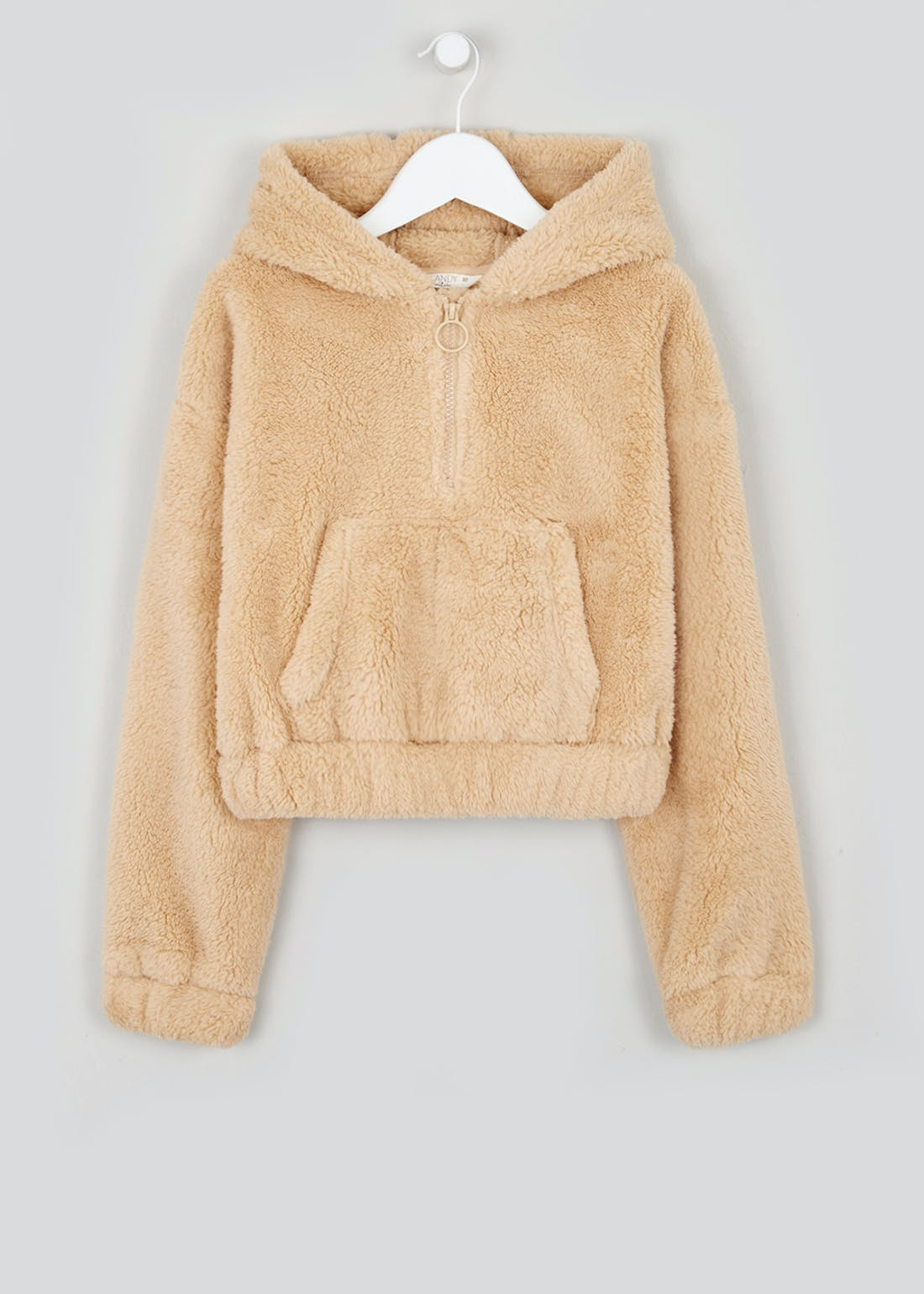 Girls Candy Couture Borg Fleece Hoodie (9-16yrs)