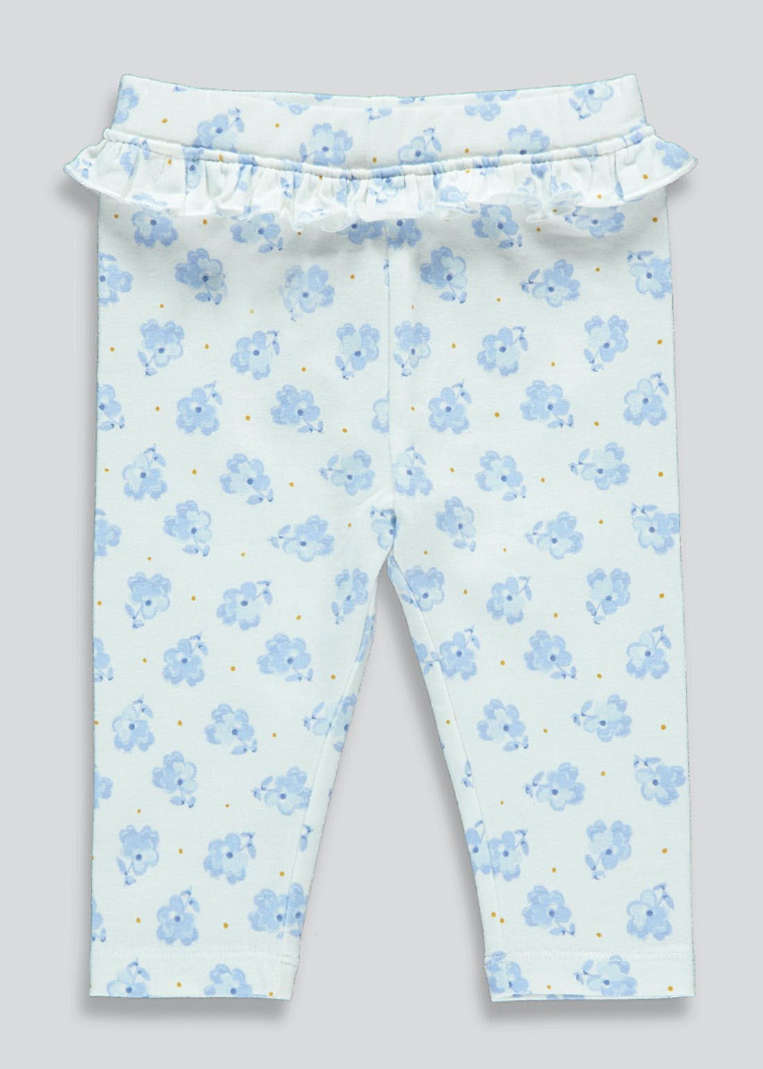 Girls Floral Leggings (Tiny Baby-23mths)