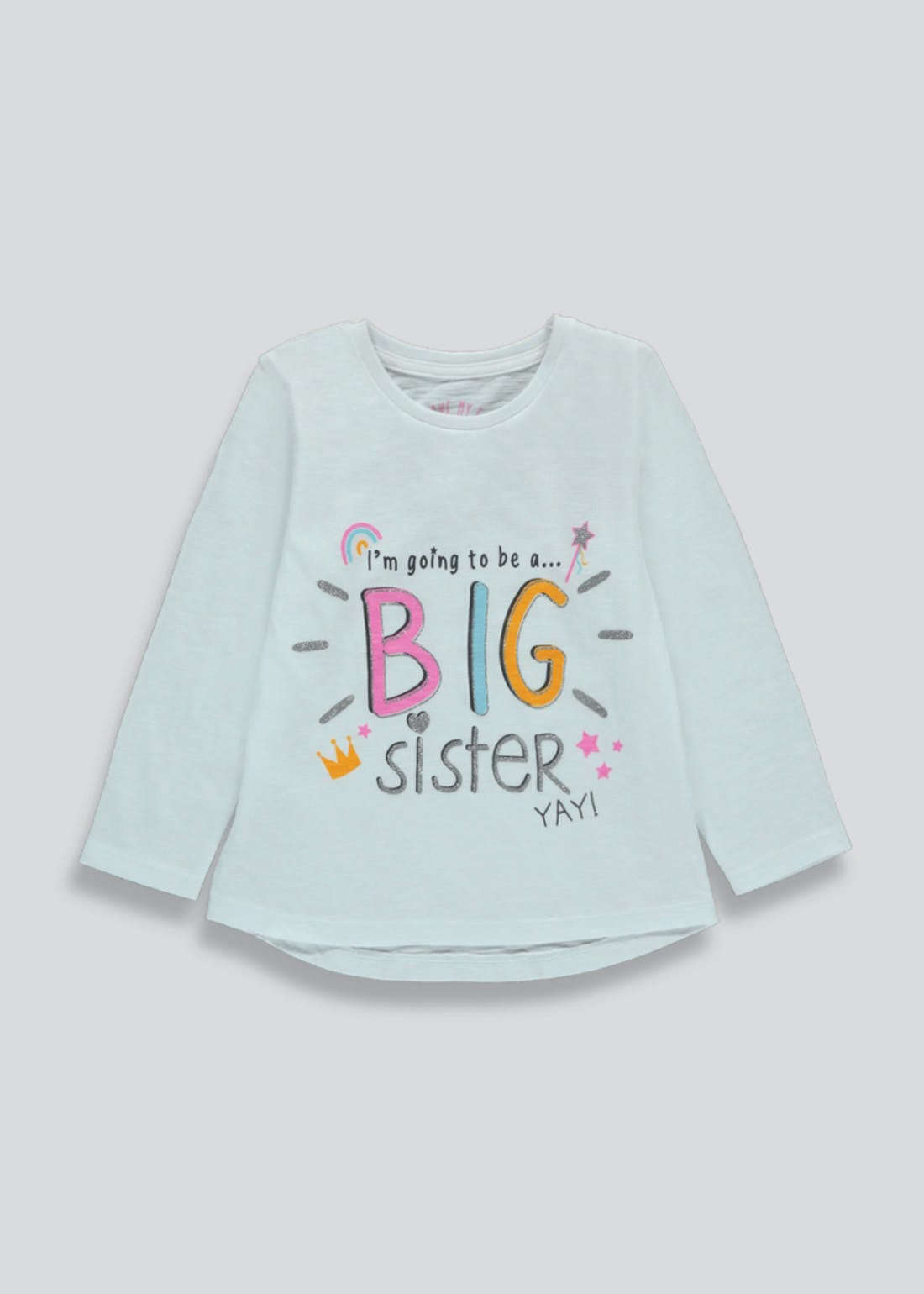 Girls Going to be a Big Sister T-Shirt (18mths-6yrs)