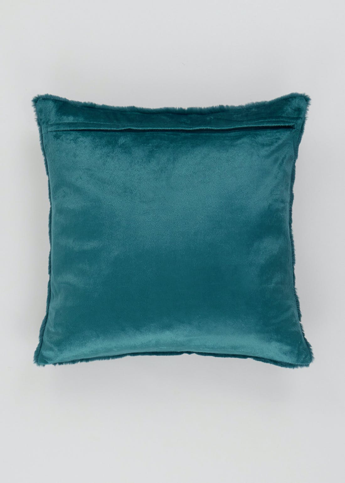 Embossed Faux Fur Cushion (45cm x 45cm)