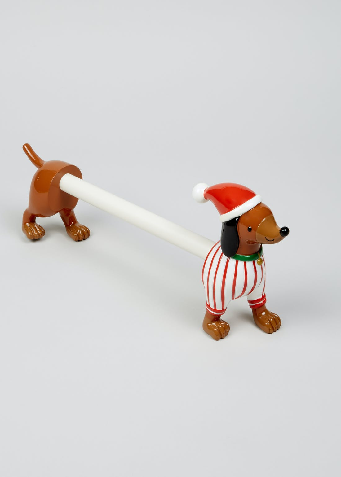 Christmas Dachshund Kitchen Roll Holder (49cm x 20cm)