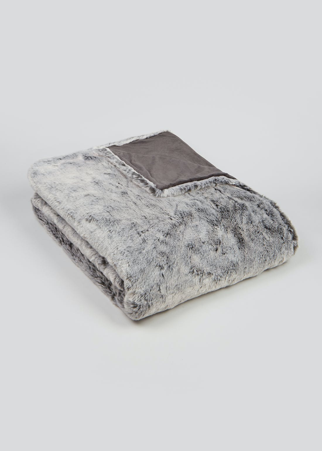 Luxury Faux Fur Throw Blanket (150cm x 130cm)