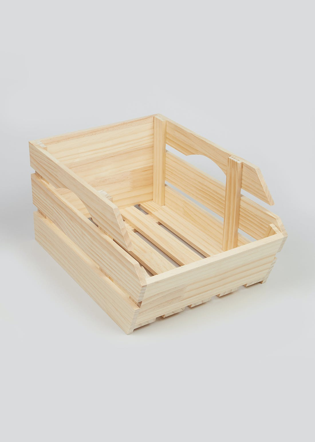 Stackage Wooden Kitchen Crate (36cm x 20cm x 15cm)