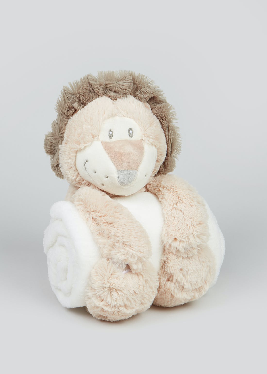 Lion Soft Toy & Blanket (One Size)