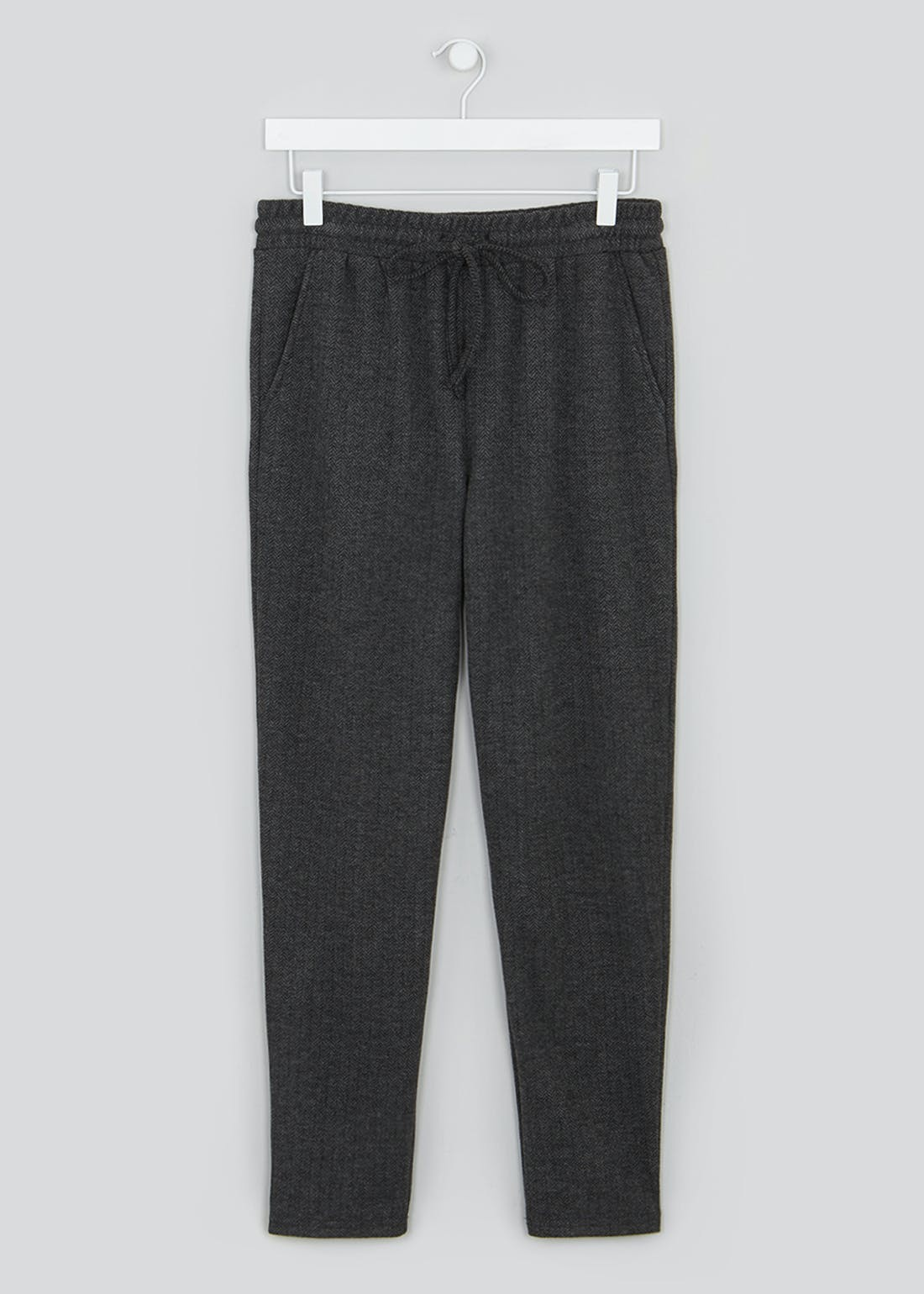 Ribbed Tapered Joggers