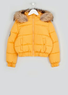 Girls Candy Couture Ochre Puffer Jacket (9-16yrs)
