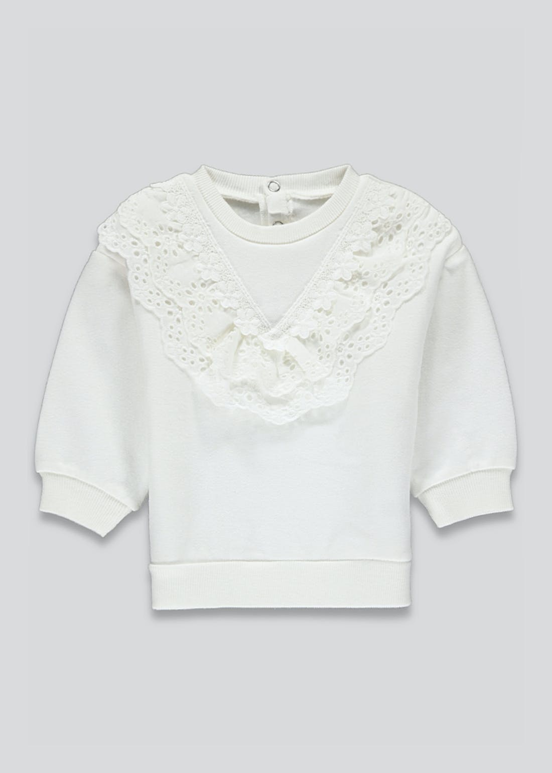 Girls Frill Fashion Sweater (9mths-3yrs)