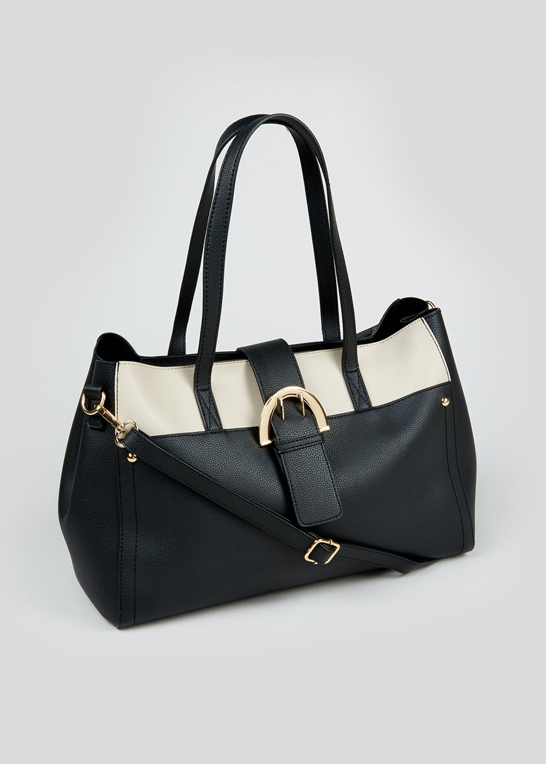 Buckle Soft Tote Bag