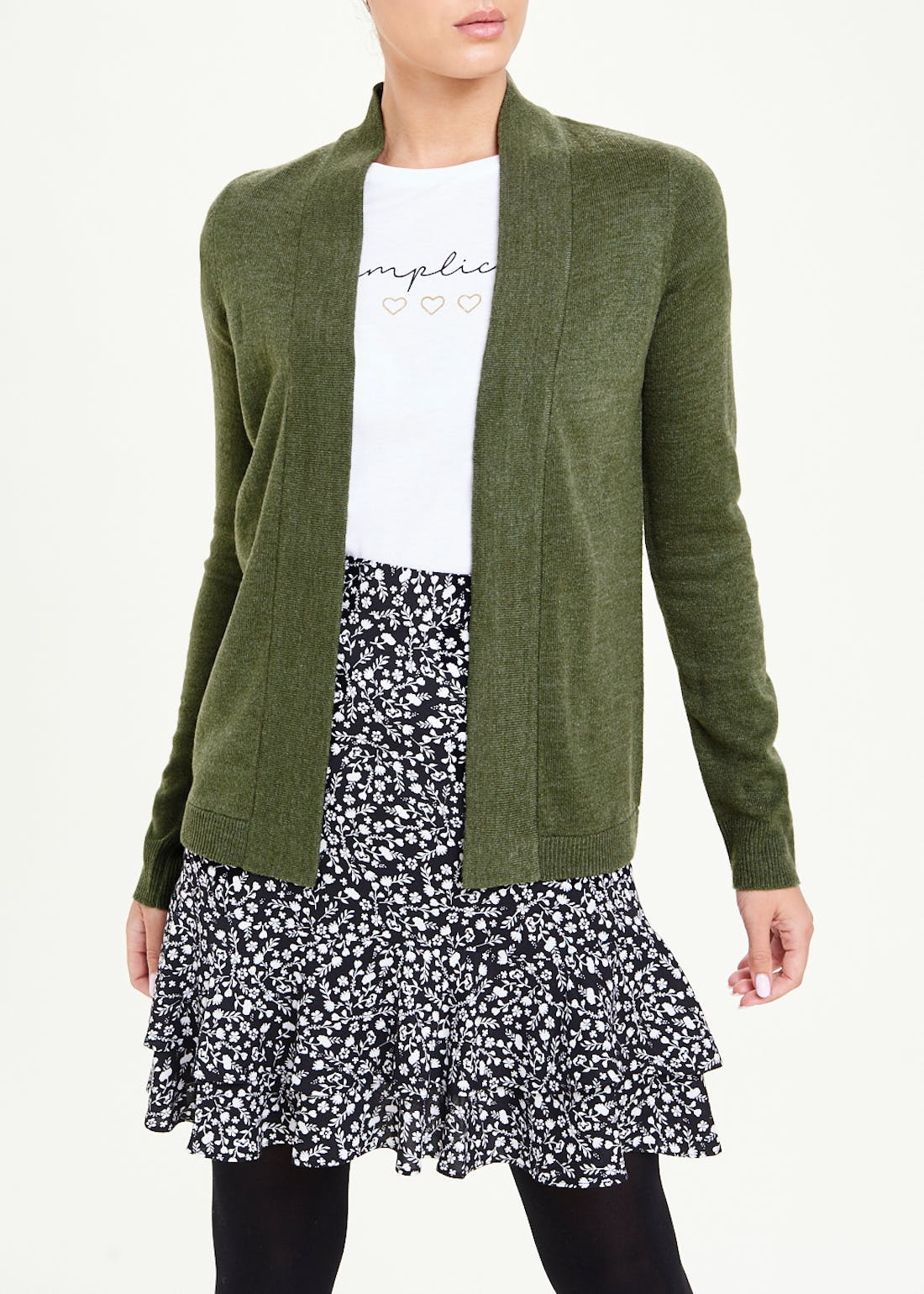 Papaya Classic Edge to Edge Cardigan