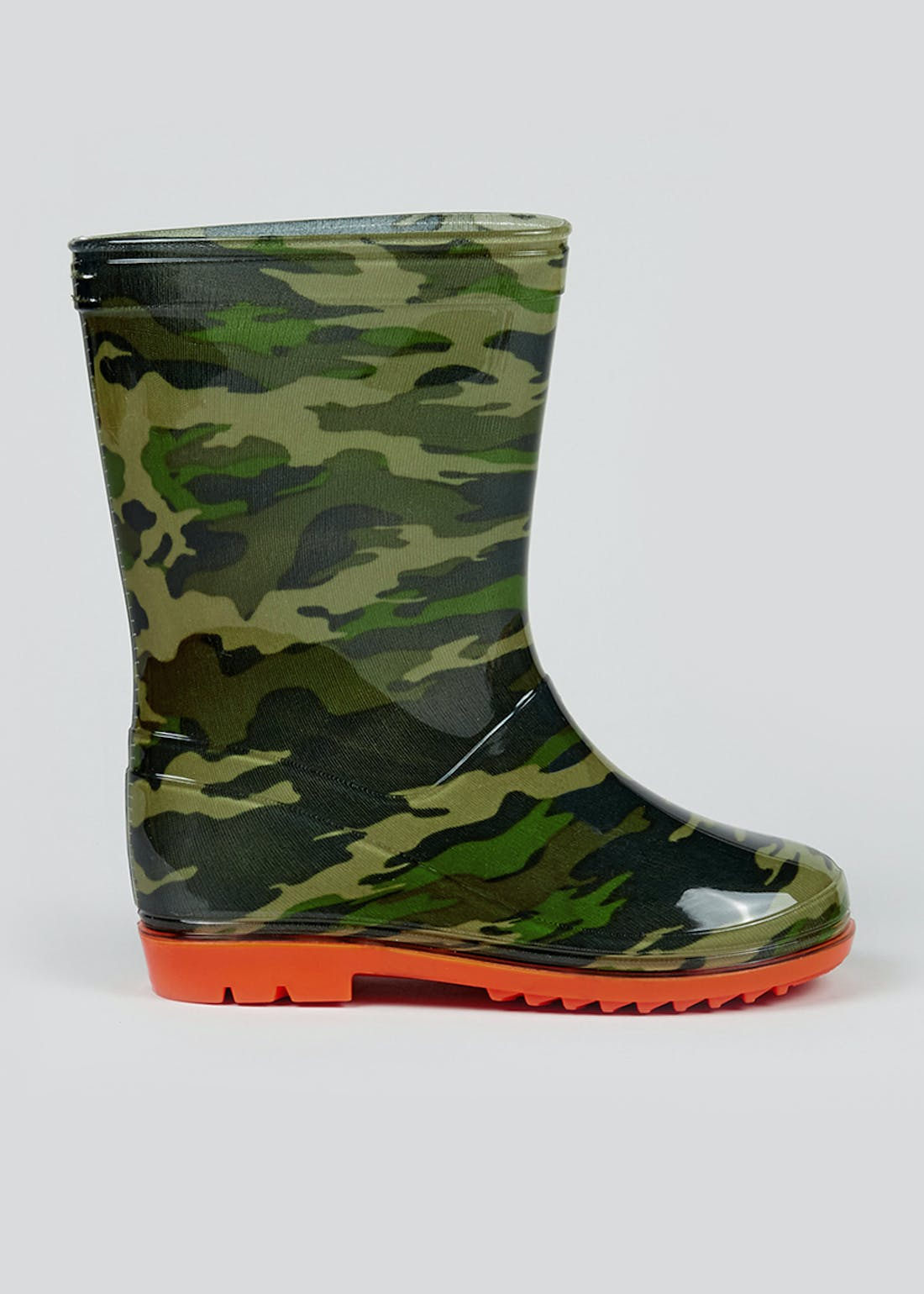 Boys Camo Print Wellies (Younger 10-Older 6)