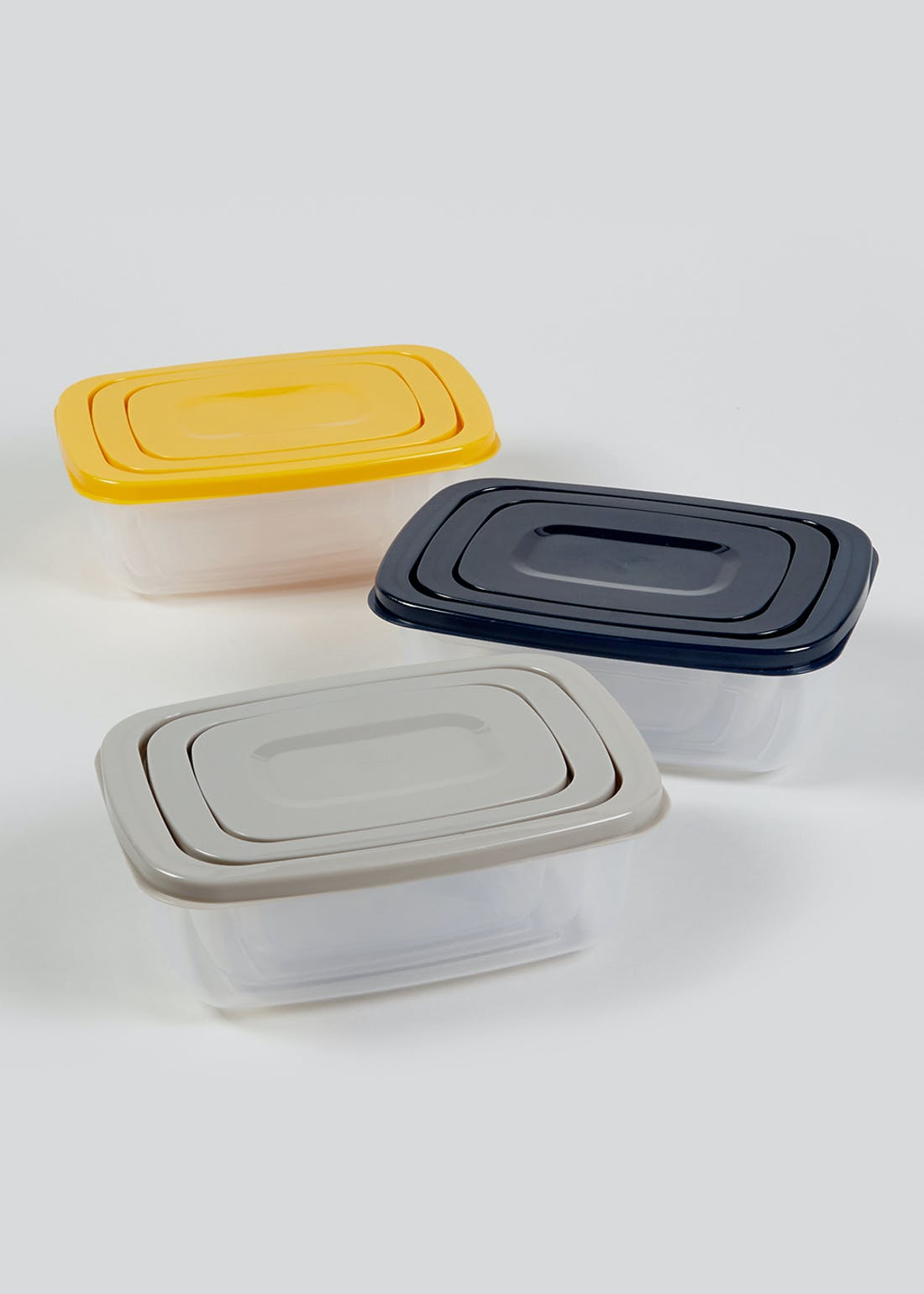 9 Pack Nesting Food Storage Boxes