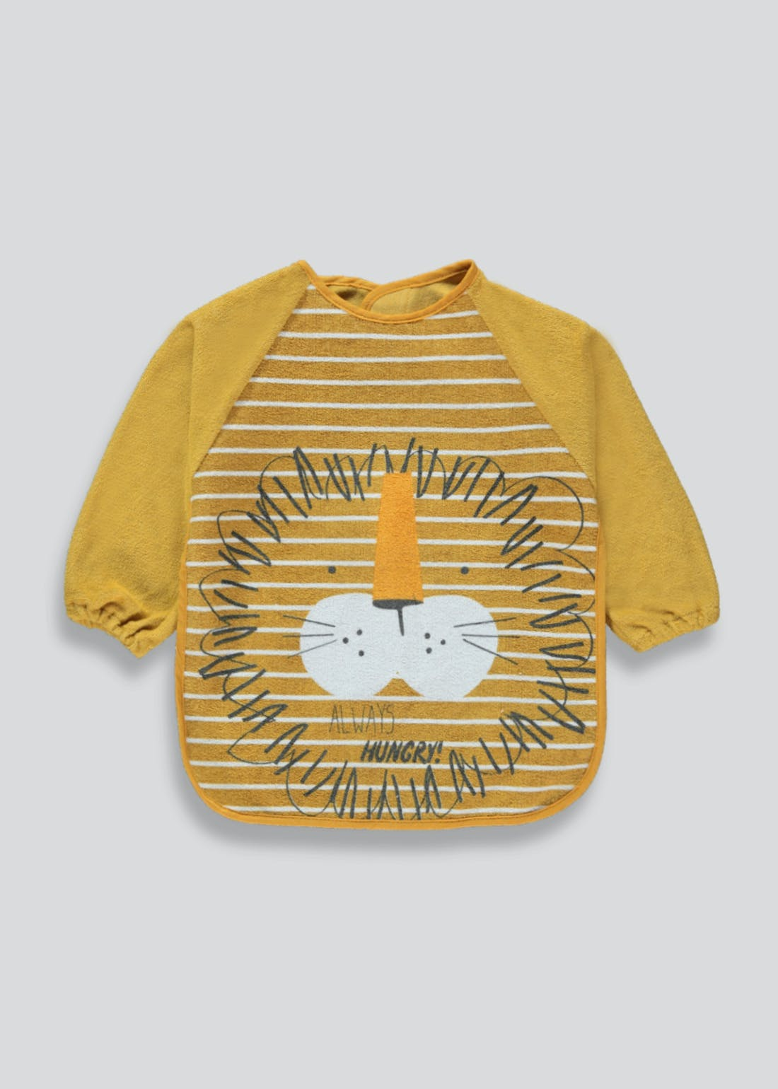 Unisex Lion Terry Bib (One Size)