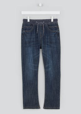 Boys Pull On Jeans (4-13yrs)