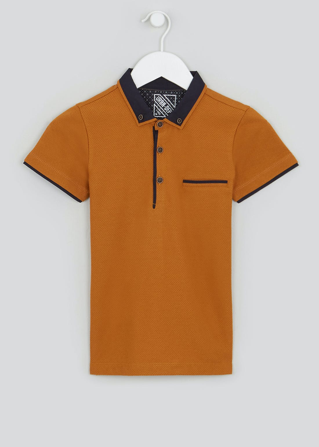 Boys Smart Short Sleeve Polo Shirt (4-13yrs)