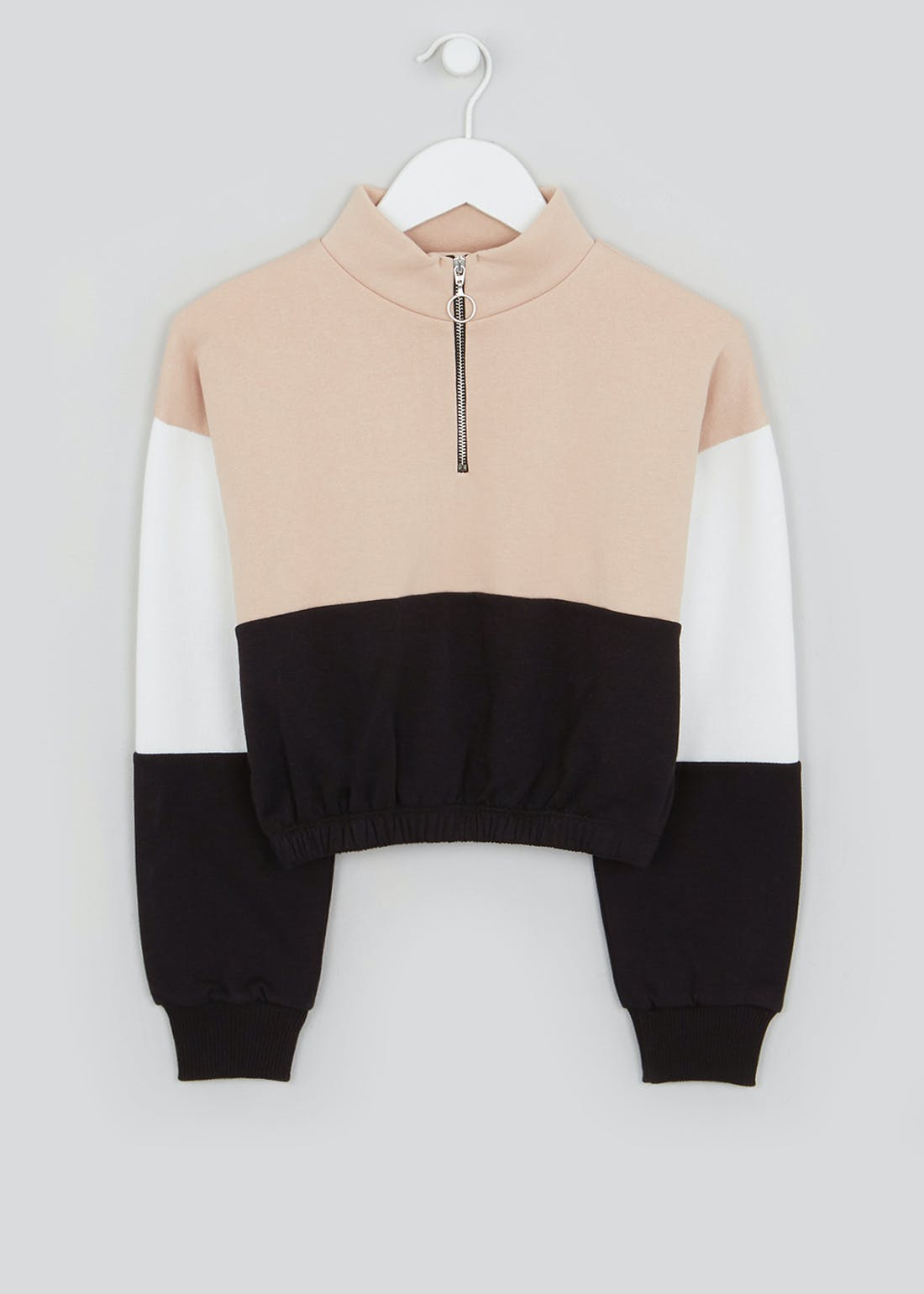Girls Candy Couture Colour Block Jumper (9-16yrs)
