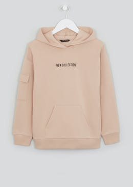 Girls Candy Couture Oversized Slogan Hoodie (9-16yrs)