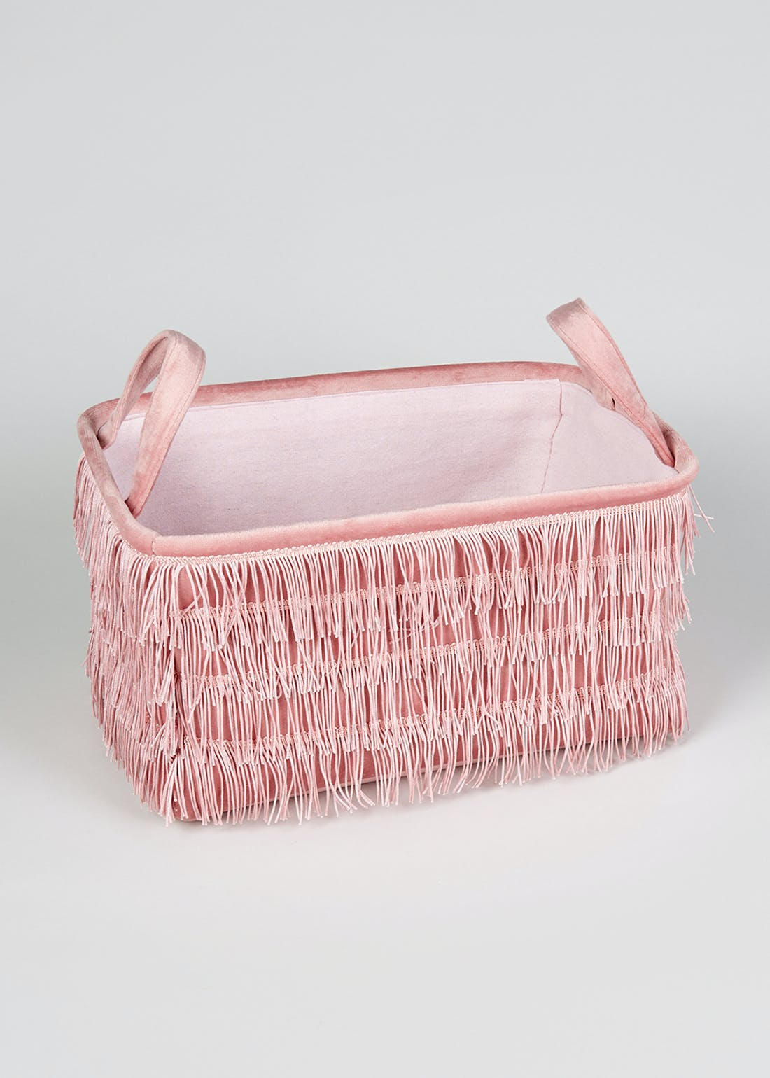Fringed Storage Basket