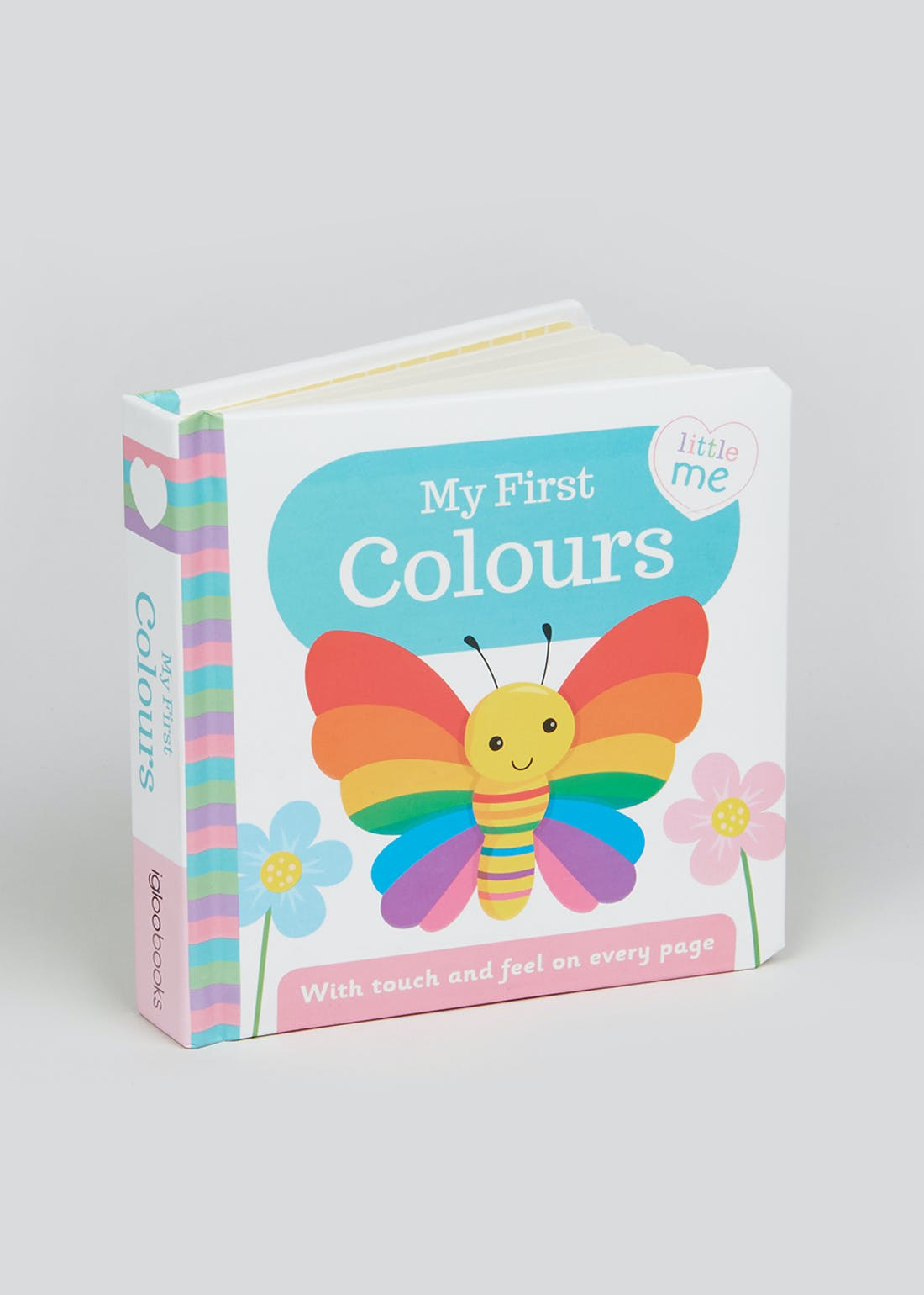 My First Colours Baby Book (14cm x 14cm x 3cm)