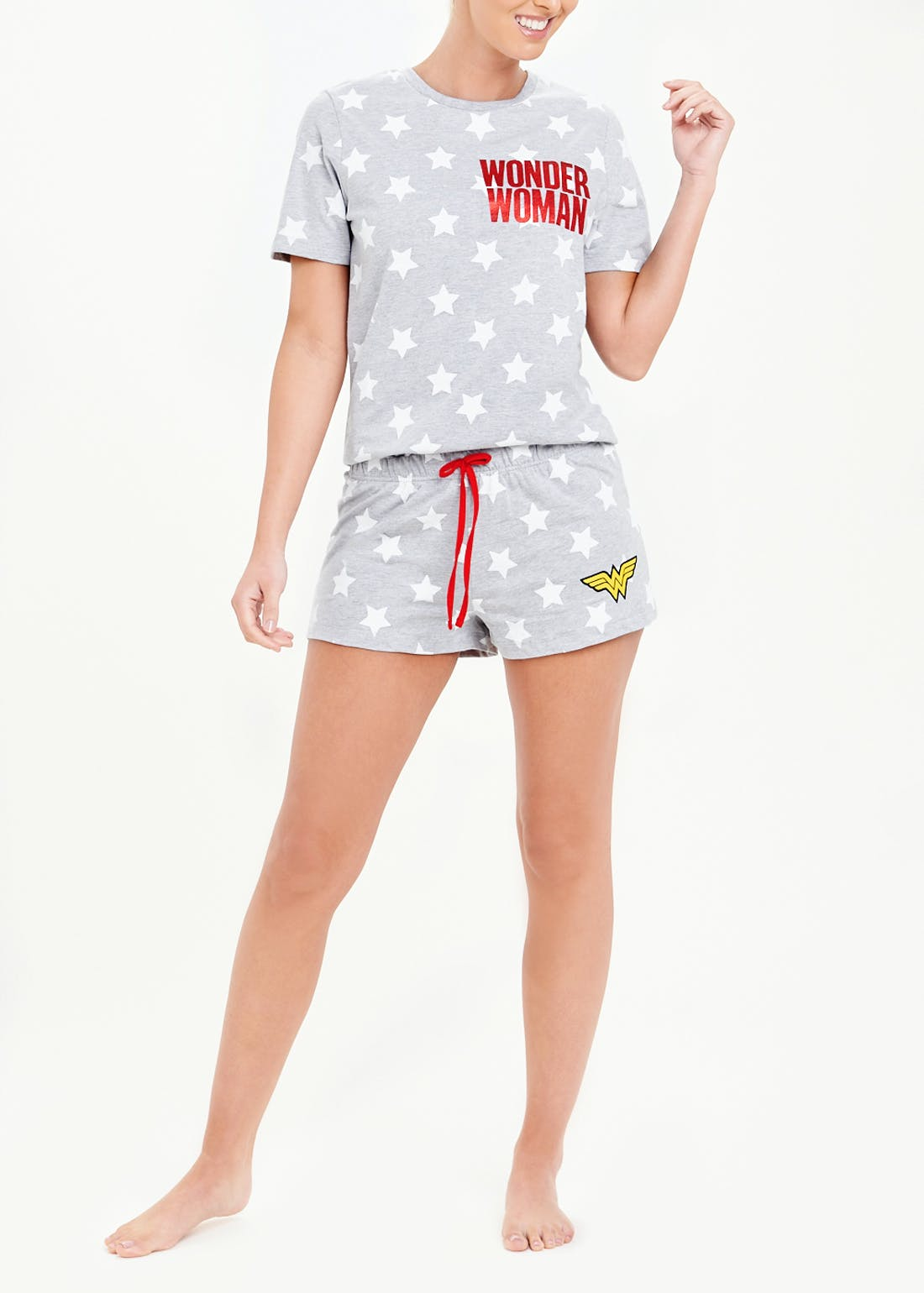 Wonder Woman Short Pyjamas
