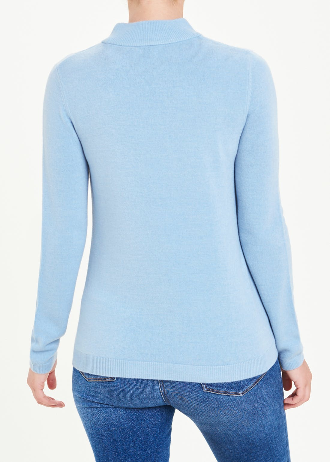 Papaya Classic Super Soft Funnel Neck Jumper