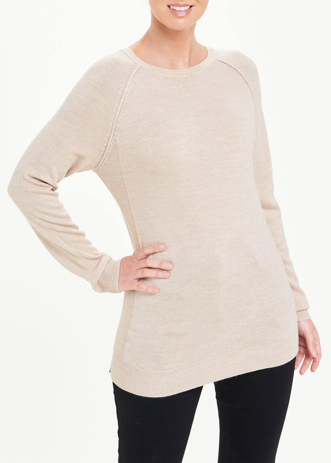 Papaya Classic Super Soft Round Neck Jumper