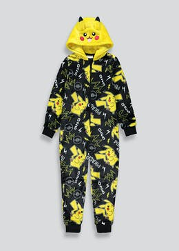 Kids Pokemon Pikachu Onesie (5-12yrs)
