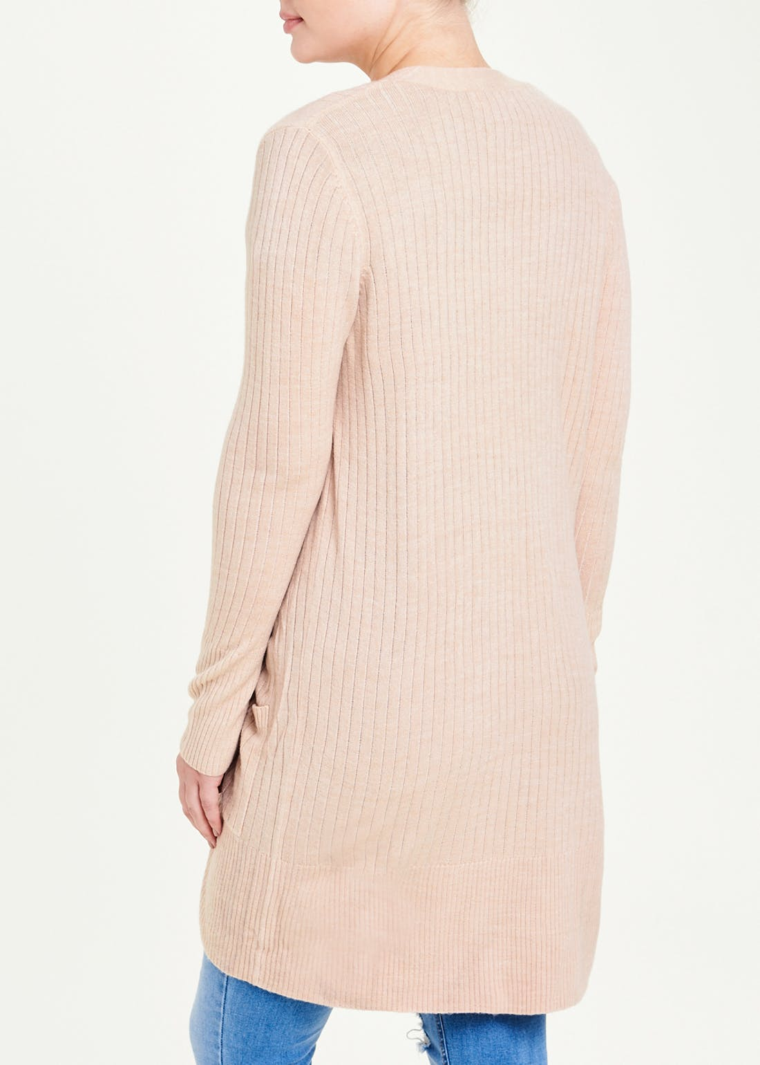 Longline Super Soft Ribbed Cardigan