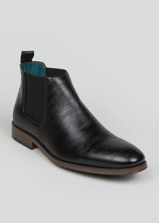Black Formal Chelsea Boots