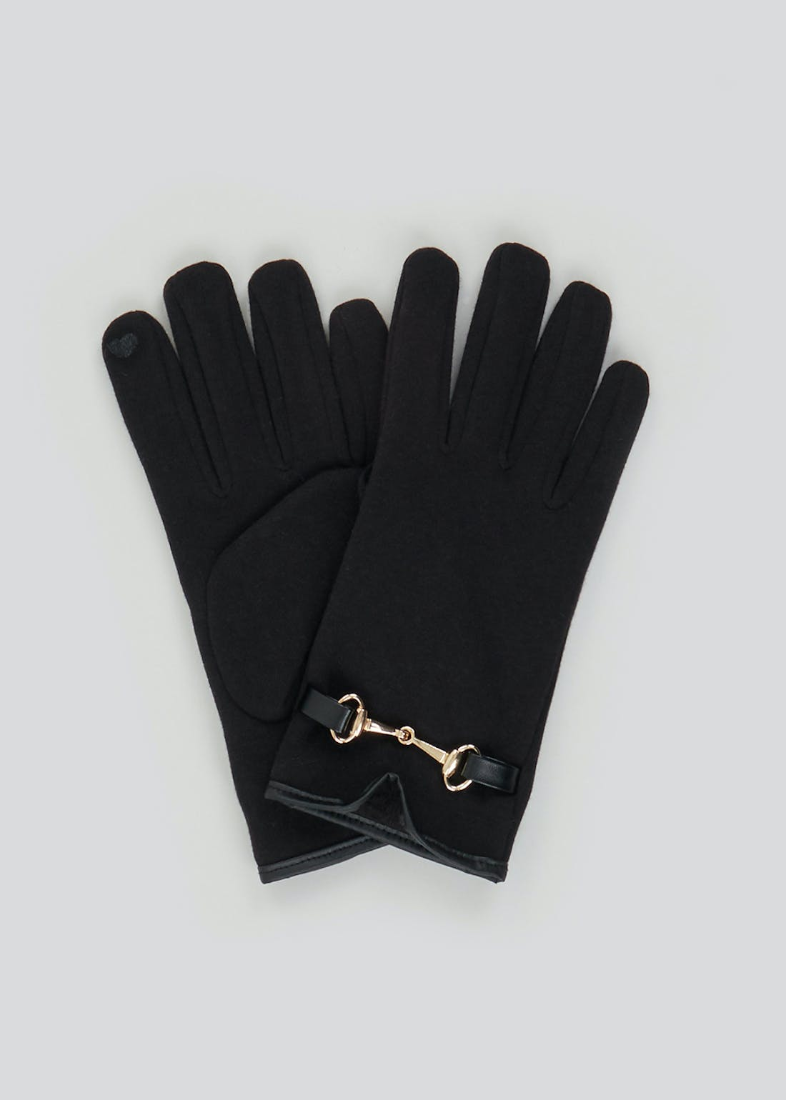 Faux Fur Lined Gloves